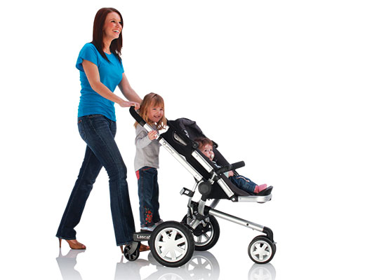 BuggyBoard fits all types of prams