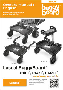 BuggyBoard Manual Cover